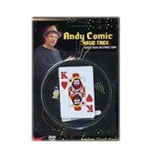 CARTA que muda de cor com DVD - Andy Comic ;