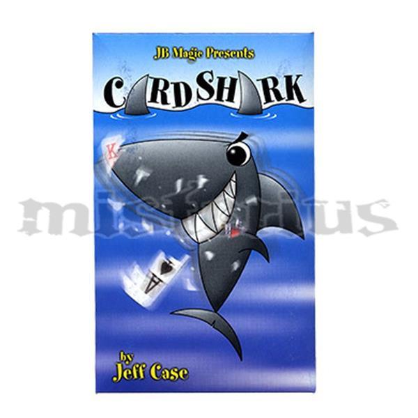 Carta Tubarão - card shark by Jeff Case