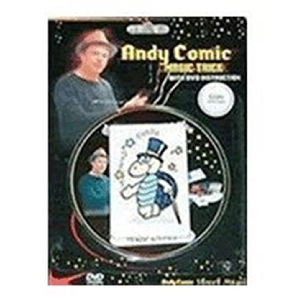 Cartas Ambiciosas com DVD - Andy Comic