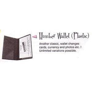 Carteiras trocas Plástico Índia, Himber Wallet Plastic