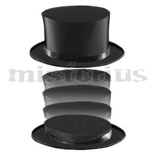 Cartolas Clak em Setim luxo  - Folding Top Hat