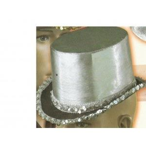 Cartolas Clak Prata- Folding Top Hat with Chamber