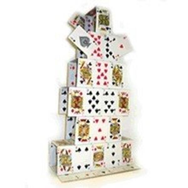 Castelo de Cartas Gigante - 100 cm