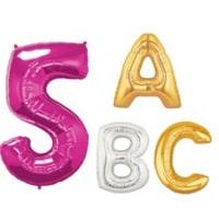 Balões Letras & Números