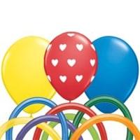 Balões de Látex & Modelagem