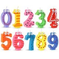 Artigos para festas de aniversário infantil - Velas
