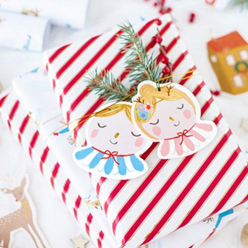 Embrulhos e Fitas de Natal