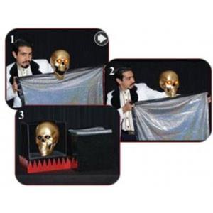 Caveira Zombie que fala e Brilha - Shining Speaker Skull-Tor