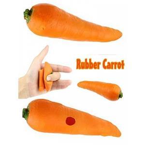 Cenoura Latex - Rubber Carrot