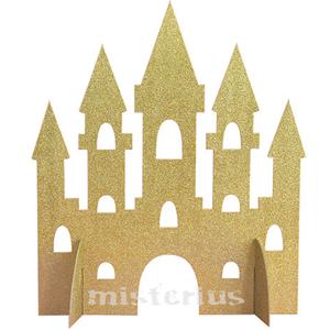 Centro de Mesa Castelo Dourado