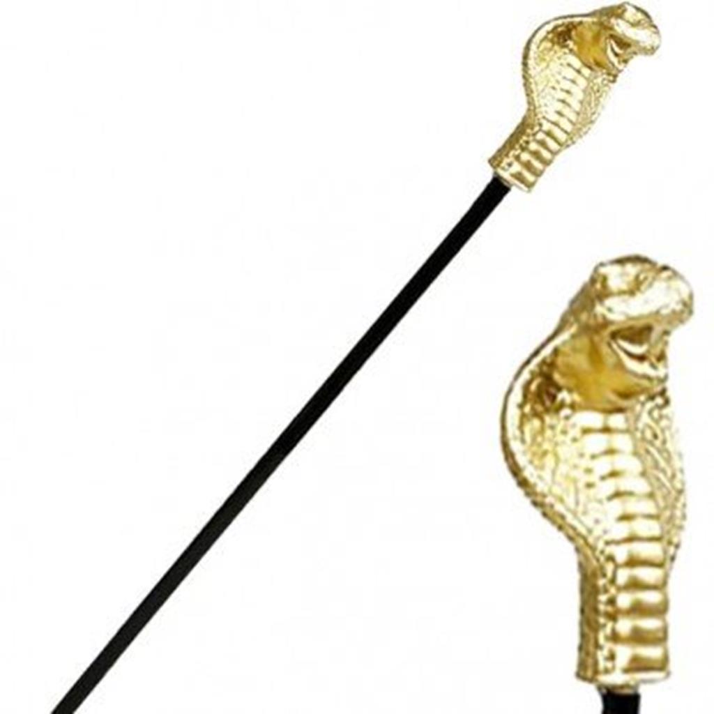 Ceptro Egipcio Serpente, 60 cm