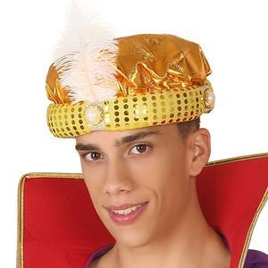 Chapéu Arabe Dourado
