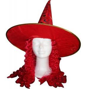Chapéu Bruxa Vermelho