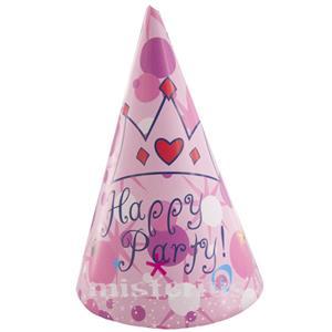 Chapéu Happy Party Rosa,10 unid