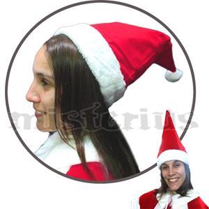 Chapéu Pai Natal Aveludado