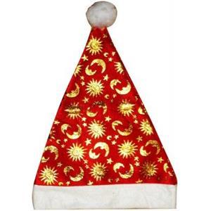 Gorro Pai Natal Estampado
