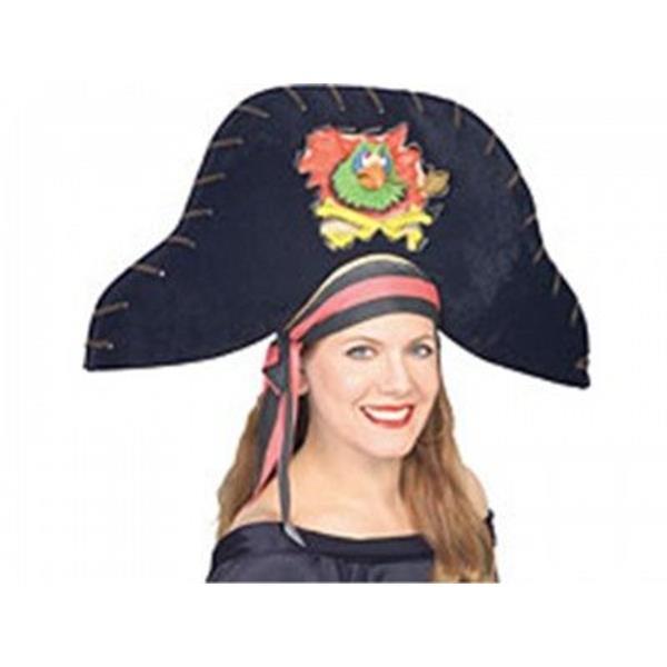 Chapéu Pirata com Papagaio