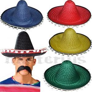 Chapéu Sombrero Mexicano, 42 cm
