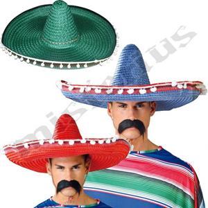 Chapéu Sombrero Mexicano, 60 cm