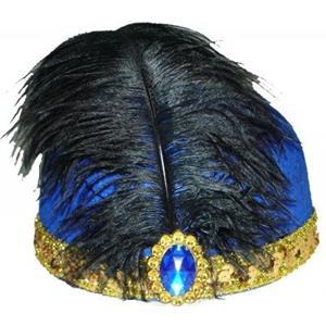 Chapéu de Anos 20 - Azul
