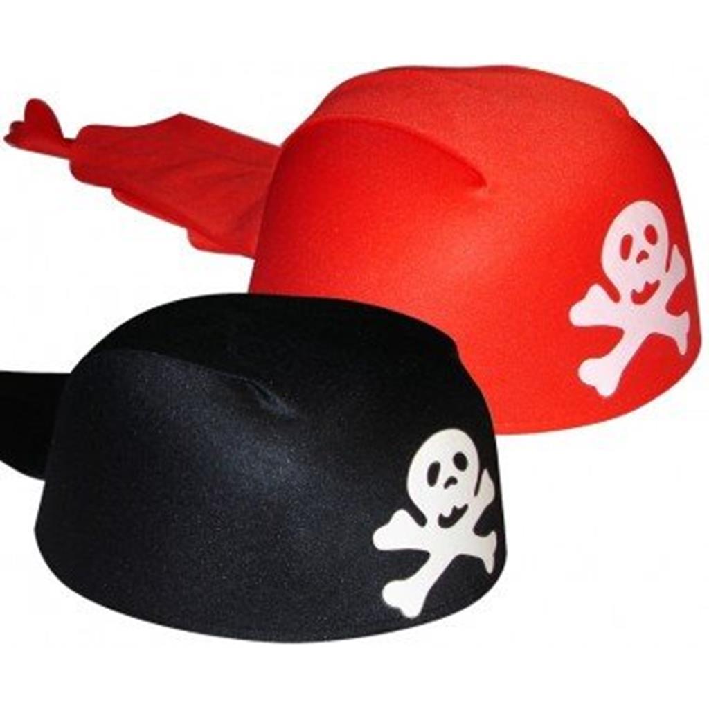 Chapéu de Pirata tipo Lenço