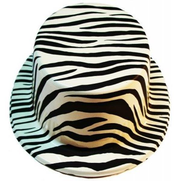 Cartola Zebra em Plástico