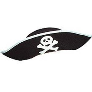 Chapéu Pirata em Feltro Criança
