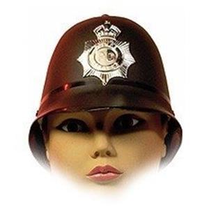 Chapéu Polícia Inglês Plástico Rígido