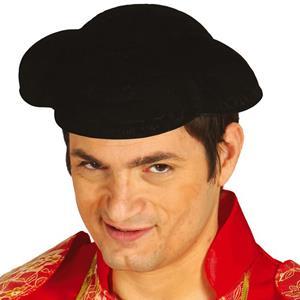 Chapéu Forcado Aveludado em Plástico