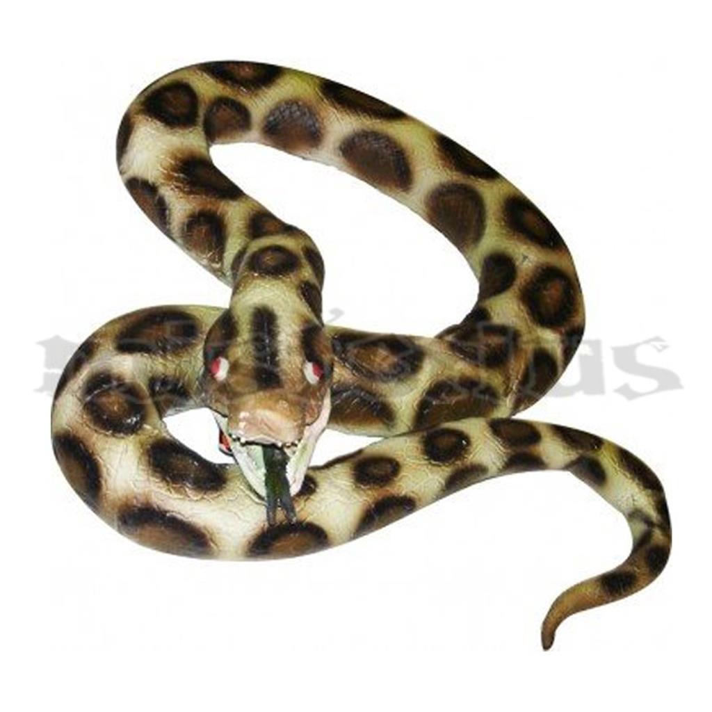 Cobra Python em látex 180 cm