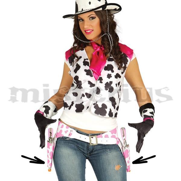 Coldre Duplo Cowgirl Rosa