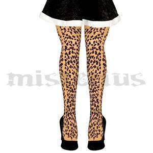 Collants Leopardo