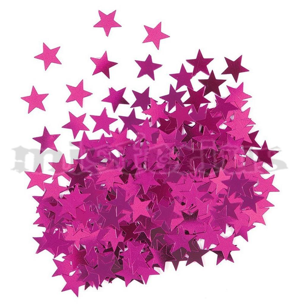 Confeti Estrela Rosa, 14 gr