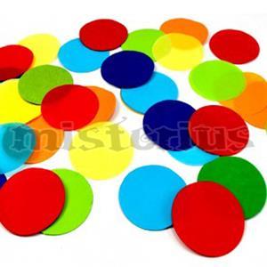 Confeti Seda Redondo 42mm
