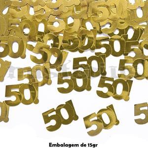 Confetis 50 Anos