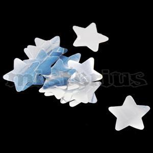 Confetis Metalizado Estrela Prata G