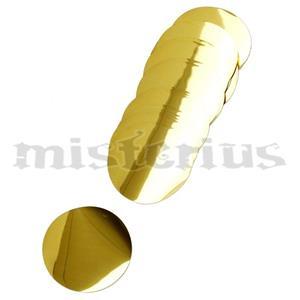 Confetis Metalizado Redondo Ouro Grande
