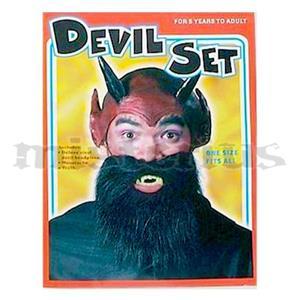Conjunto Acessórios Diabo