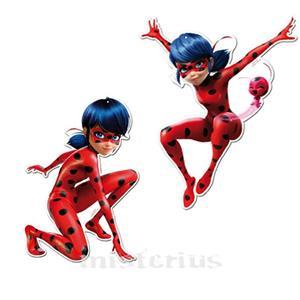 Conjunto 2 Mini Figuras Ladybug, 30cm