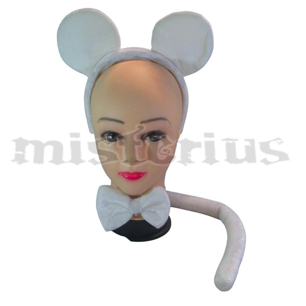 Conjunto Rato Mickey Branco