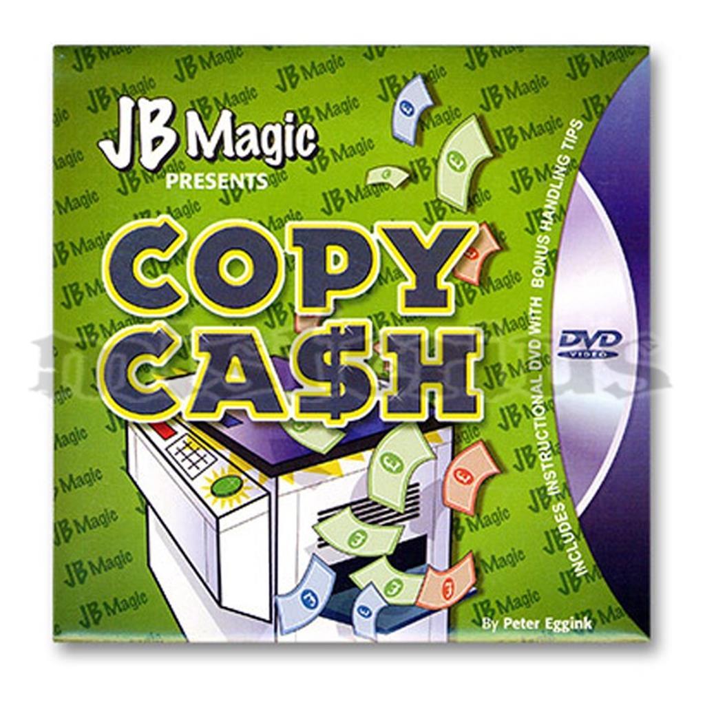 Cópia de Dinheiro com dvd- JB Magic
