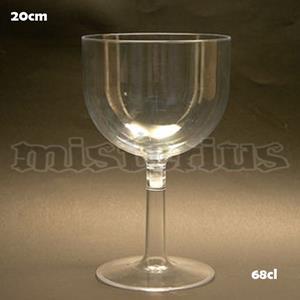 Copo Gin 68 cl Plastico, 2 un
