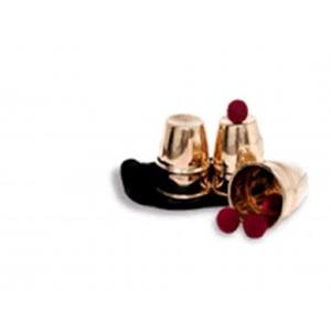 Copos e Bolas-Cobre Luxo- Cups and Balls Cooper;