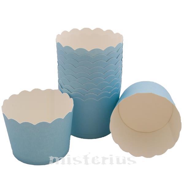 Copos Sobremesa Azul bébe,12 unid