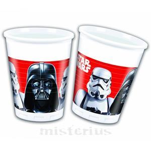 Copos Star Wars, 8 Unid.