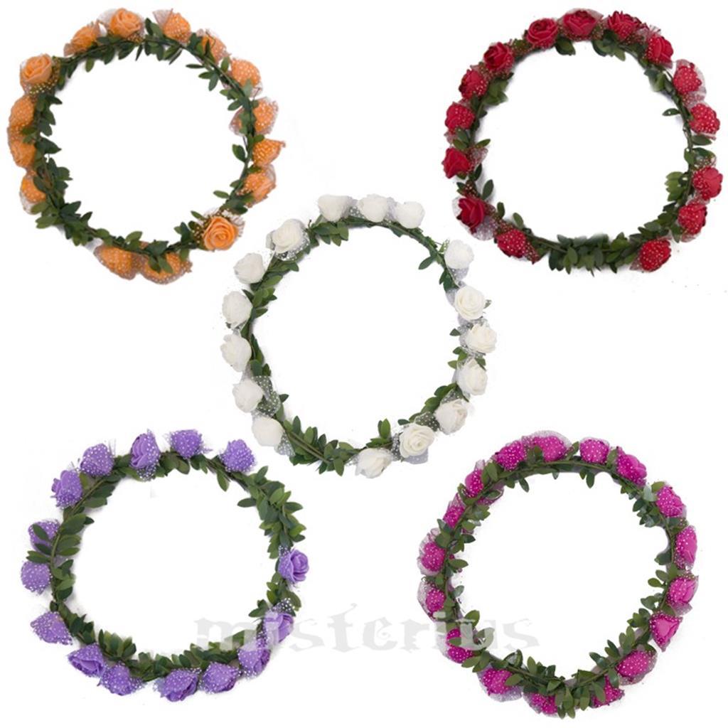 Coroa Flores Colorida