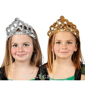 Coroa Princesa Lantejoulas