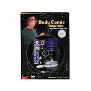 Dado diminuição com dvd do Andy Comic ;