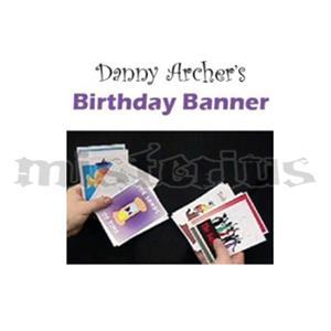 Danny Archer Birthday Banner