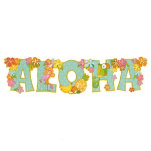 Decoração Aloha